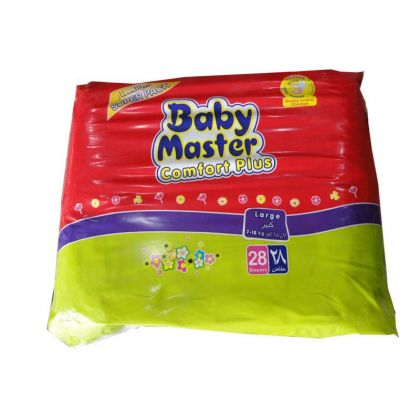 Baby Master Diapers Large (28Pcs)