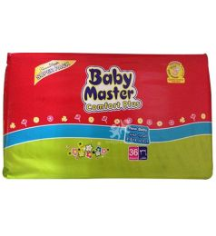 Baby Master Diapers Small (27Pcs)