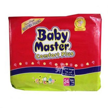 Baby Masters Diapers Exrta Large (24Pcs)