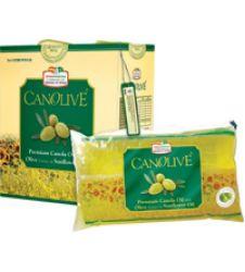 Canolive Premium Canola Oil (1Ltr X 5)
