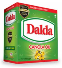 Dalda Canola Oil Carton (1Ltr X 5)