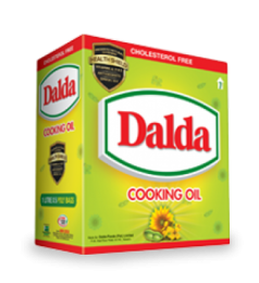Dalda Cooking Oil (1Ltr X 5)