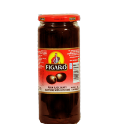Figaro Black Olives Plain (575gm)