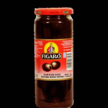 Figaro Black Olives Plain (575gm)
