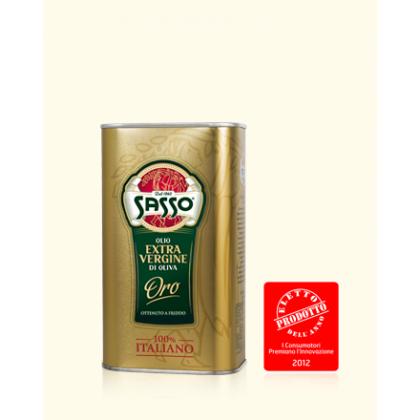 Sasso Olive Extra Virgin Tin (1ltr)