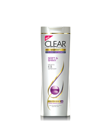Clear Shampoo For Women - Soft & Shiny (400ml)