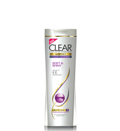 Clear Shampoo For Women - Soft & Shiny (400ml)