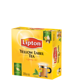 Lipton Yellow Label Black (100 Sachet)