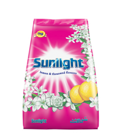SUNLIGHT WASHING POWDER - PINK (1KG )