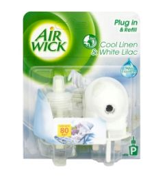 Air Wick Plug In & Refill Cool Linen & White Lilac