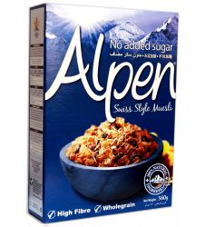 Alpen Muesli No Added Sugar Cereal (560gm)