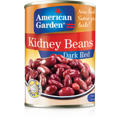 American Garden Kidney Beans Dark Red (400gm)