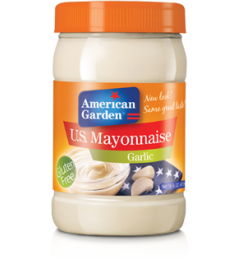 American Garden Mayonnaise Garlic (473ml)