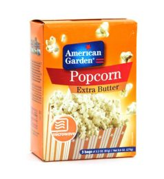 American Garden Popcorn Extra Butter (273gm)