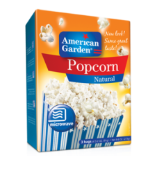 American Garden Popcorn Natural (273gm)