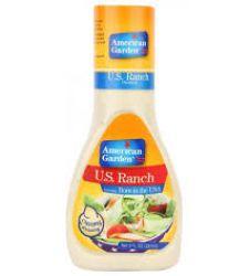 American Garden Salad Dressing - Creamy U.s Ranch (267ml)