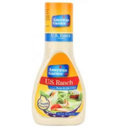 American Garden Salad Dressing - Creamy U.s Ranch (267ml)
