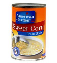 American Garden Sweet Corn Cream Style (418gm)