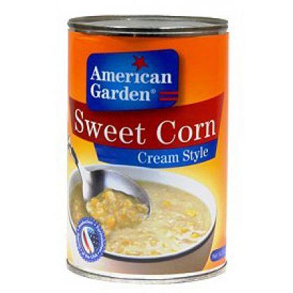American Garden Sweet Corn Cream Style (418gm)