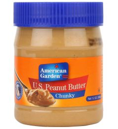 American Garden U.s. Peanut Butter Chunky (340gm)