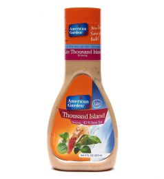 American Garden's Thousand Island Lite Dressing (266ml)
