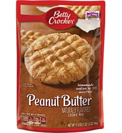 Betty Crocker Peanut Butter Cookie Mix (496gm)