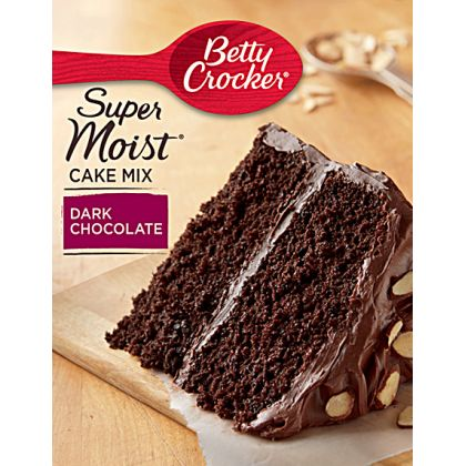 Betty Crocker Super Moist Cake Mix - Dark Chocolate