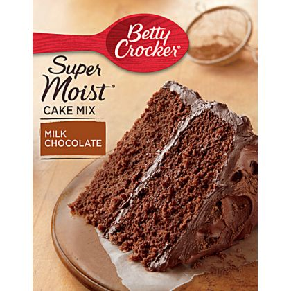 Betty Crocker Super Moist Cake Mix - Milk Chocolate