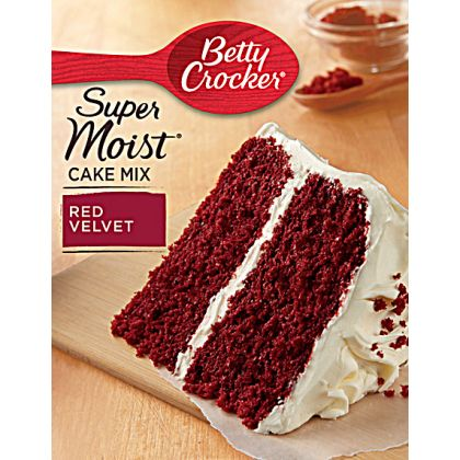 Betty Crocker Super Moist Cake Mix - Red Valvet