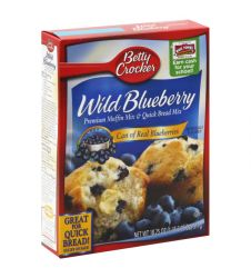 Betty Crocker Wild Blueberry Muffin Mix (479gm)