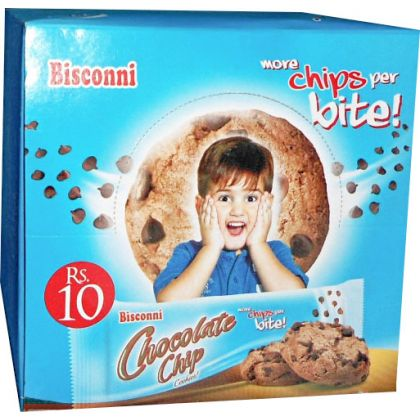 Bisconni Chocolate Chip Kite Biscuit (12 Packs)