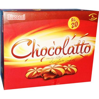 Bisconni Chocolatto Biscuit (6 Packs)
