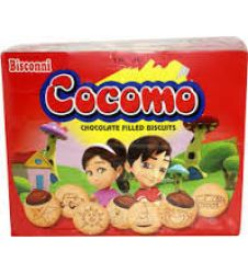 Bisconni Cocomo Chocolate Filled Biscuits (24 Ticky Packs)