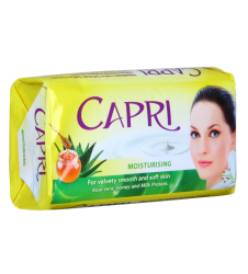 Capri Moisturising Aloe vera, honey and milk protein (155gm)