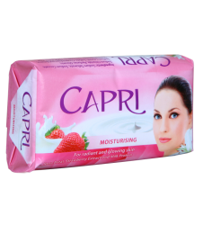 Capri Moisturising Rose Petal, Strawberry, Milk Protein (155gm)