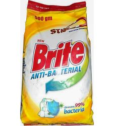 Brite Antibacterial Washing Powder (500gm)