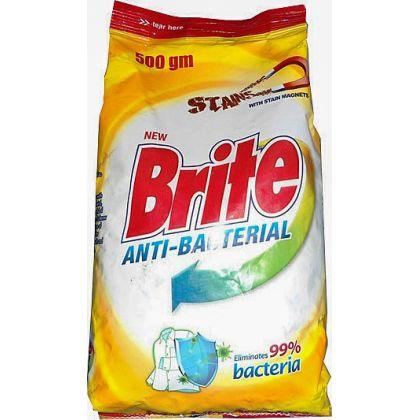 Brite Antibacterial Washing Powder (500gm)
