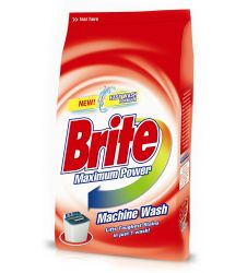 Brite Machine Wash Washing Powder (1kg)