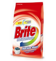 Brite Machine Wash Washing Powder (1kg)