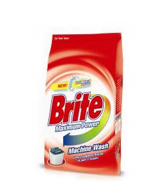 Brite Machine Wash Washing Powder (500gm)