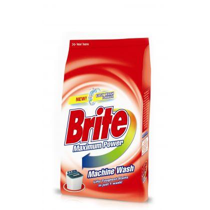 Brite Machine Wash Washing Powder (500gm)