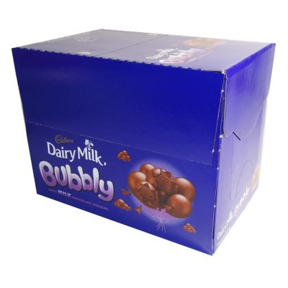 Cadbury Dairy Milk Bubbly (24x87gm)