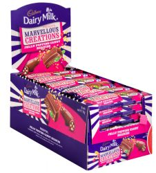 Cadbury Dairy Milk Marvelous Creations jelly popping (24x38gm)