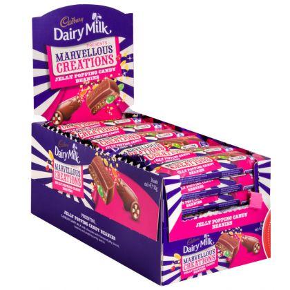 Cadbury Dairy Milk Marvelous Creations jelly popping (24x38gm)