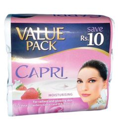 Capri Moisturising Value Pack Soap (3x115gm)