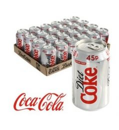 Coke Diet Can Pack (24x300ml)