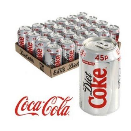 Coke Diet Can Pack (24x300ml)