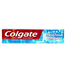 Colgate Max Fresh Cooling Blue Toothpaste (125gm)