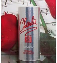 Revlon Charlie Red Talcum Powder (Small)