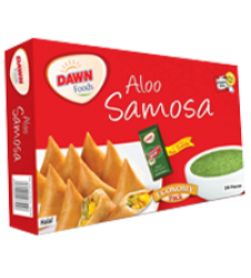 Dawn Aaloo Samosa Regular 240 Grams (12 Pieces)